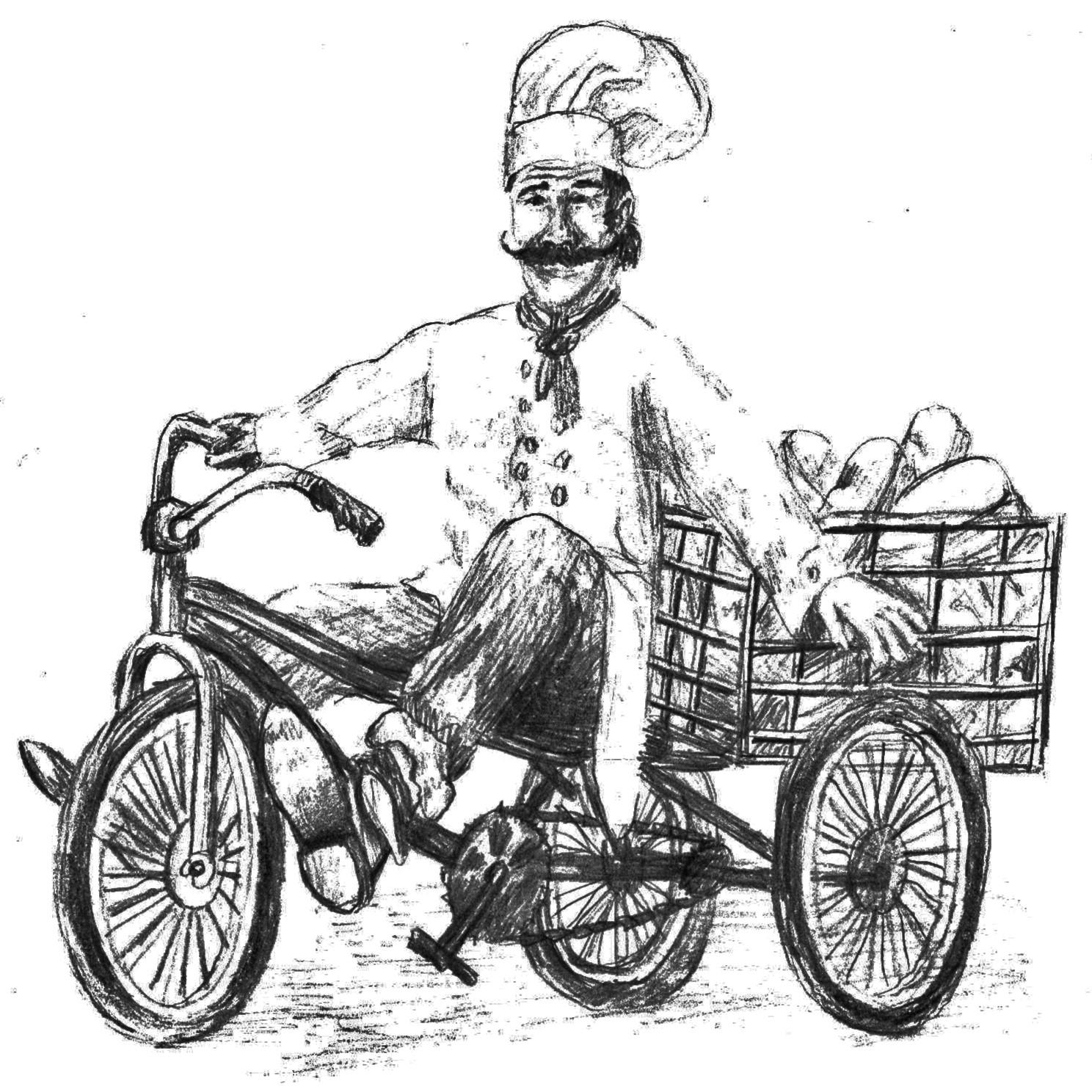 The Bread Peddler Logo